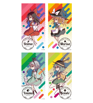 Ani-Artクリアタペストリー(全4種)